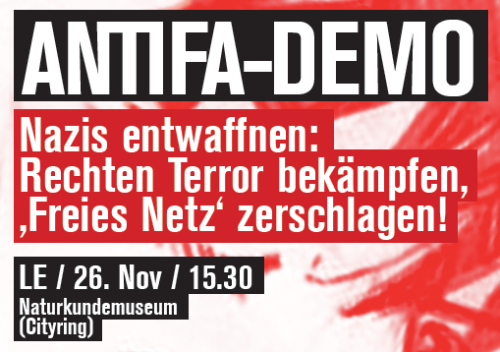 Antifa Demo 26.11
